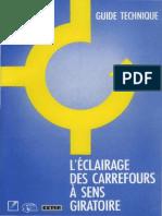 Guide Technique l'Éclairage Des Carrefours à Sens Giratoire