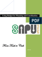Using Budget for Planning and Coordination