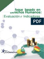 El Enfoque Basado en Los Derechos Humanos Evaluación e Indicadores