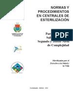 Libro de Esterilización SEDES