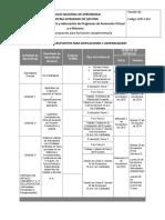 Cronograma de Actividades Del Programa - Noviembre