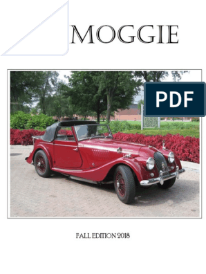 MORGAN ROADSTER OWNERS MANUAL OWNER/'S HANDBOOK V6