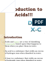 PPT on Acid