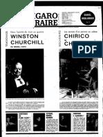 Chirico Par Chirico Les Carnets d'Un Peintre en Colère Le Figaro Littéraire