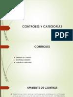 Controles y Categorías