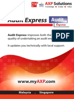 Audit Express - Product Brochure 2010