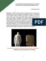 La Renuncia de Benedicto XVI - Asaltos de La Masonería Eclesiástica