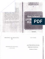 Antropologia Pedagogica Introduccion Historica