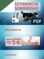 Diapositivas Abstinencia y Sobriedad