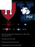 the oldest college football rivalry