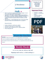 weekly newsletter nov 13th