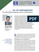 Métropoles et entreprises - Note d'analyse géopolitique n°2 octobre 2010