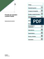Hmi Comfort Panels Operating Instructions EsES Es-ES
