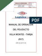 01 Manual de Operacion PVT