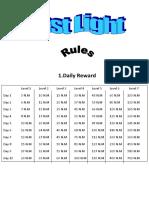 Fast Light Rules 1