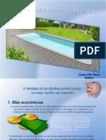 Carlos  Flores Malpica - 5 Ventajas de las piscinas prefabricadas