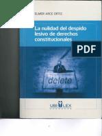 La Nulidad del Despido Lesivo de Derechos Constitucionales.pdf