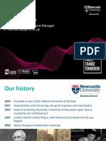 Newcastle Uni Business School - HKU Space Presentation