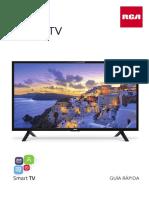 Manual SMART TV 39 RCA