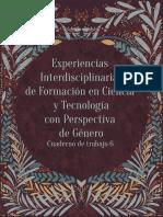 Experiencias Interdisciplinarias de Formación en Ciencia y Tecnología con Perspectiva de Género