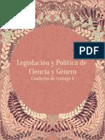 Legislación y Política de Ciencia y Género