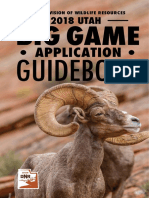 2018 Big Game Application Guidebook