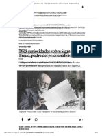 Sigmund Freud_ Diez Cosas Que Quizá No Sabías Del Padre Del Psicoanálisis