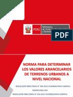 Norma Determ Valores Arancelarios 2018