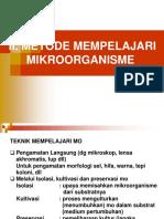 Bab II. Metode Mempelajari Mikroorganisme