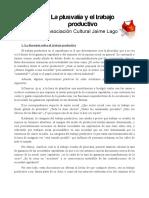 Textos Sobre Trabajo Productivo-improductivo y Trabajo Doméstico
