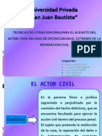 El Actor Civil