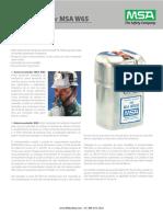Manual Basico autorescatadores MSA