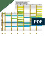 Academic Calendar of Deptt