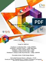 Actividad Unidad 1- Fase 2 Definir y Analizar El Problema