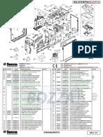 Gran Baristo Class Parts Diagram