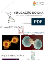 Aula 4 Replicação Do Dna