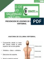 Diapositivas Lesiones de Columna Vertebral......
