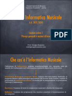 Informatica Musicale 1