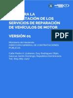 Guía Para La Reparacion de Vehiculos de Motor v3