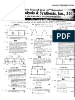 2011-2012 Ec Circuit Analysis and Synthesis