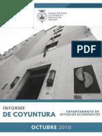 Informe de Coyuntura CNCS - Octubre 2018