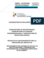 Proyecto Adultos Mayores 2018