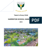 harriston school handbook