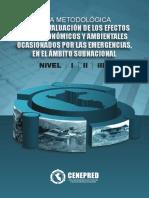 Guía Metodológica para evaluación de los efectos socio económicos y ambientales ocasionados por las emergencias en el ámbito subnacional I, II y III. CENEPRED 2015