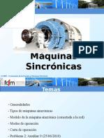 Generador Sincronico Aux9 EL4001