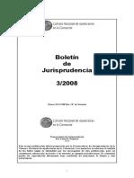 Boletin Jurisprudencia camara nacional comercial 2008
