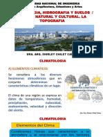 clase -climatolgía, hidrografía, suelos y paisaje
