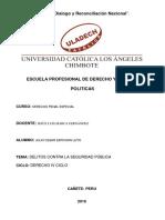 Delitos Contra La Seguridad Publica PDF Converted