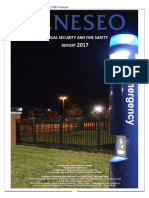 SUNY Geneseo 2017 Annual Security and Fire Safety Report