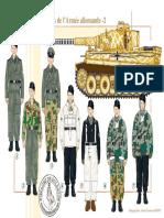 Uniformen - 135 - Les Troupes Blindées de l'Armée Allemande (2), 1940-1944